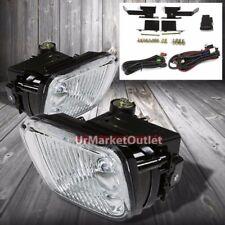 Clear Lens Housing Driving/Bumper Fog Light+Kit For Honda 96-98 Civic EJ/EK/EM