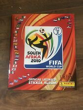 Panini World Cup South Africa 2010: Album + All 640 Stickers