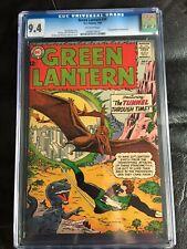 GREEN LANTERN #30 CGC NM 9.4; OW; Gil Kane dinosaur cvr!