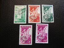 MONACO - timbre yvert/tellier preoblitere n° 3 11 12 12A 19 (sans gomme) (A39)