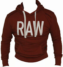 G-Star RAW Mens Jacket Lars Hooded In Auburn Colour Size S