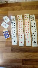 Stardust Sad Clown Playing Cards Nu-Vue Full Pack Well Used