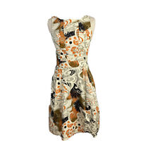 Cue Womens Size 6 Fit And Flare Bias Cut Dress