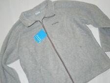 Columbia Benton Springs women's full zip gray Fleece Jacket size 1X