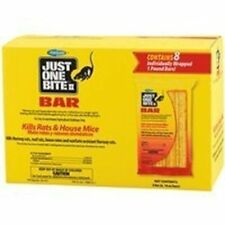 Just One Bite II - Rat  or Mice or Mouse bait Bromadiolene 8 -  1 lb (16oz) bars