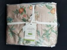Pottery Barn Mariella Reversible Tencel Printed Duvet Cover Full Queen #4580
