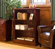 La Roque low living room office bookcase solid mahogany furniture