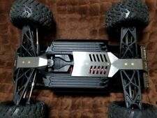 ARRMA BIG ROCK stainless steel armor chassis guard protector skid plate