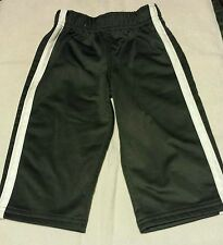 CARTER'S 9 M SOLID GRAY W/WHITE STRIPS POLYESTER EVERYDAY  ALL SEASON PANTS
