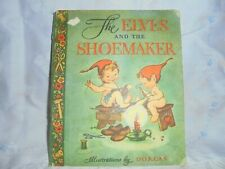 The Elves and the Shoemaker, vintage child's book