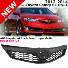 For Toyota Camry SE Style 2012-2014 Front Bumper Upper Hood Grille Black
