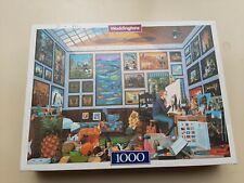 Waddingtons Painters Paradise Art Mike Wilks Jigsaw Puzzle 1000 Pieces Complete