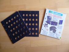 Original LEUCHTTURM Vista Münzblätter für 10 Cent Münzen 2er Pack NEU & OVP 28