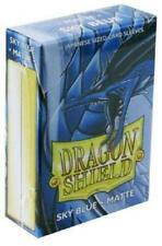 Dragon Shield Japanese Matte Sky Blue 60ct Size Sleeves protectors YGO vanguard