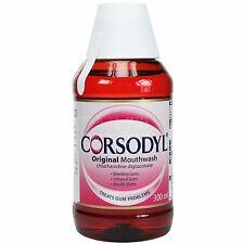 Corsodyl Original Mouthwash 300ml - Multiple Packs