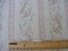 yuwa erbstück french fashion dolls rosa röschen rosa streifen baumwolle dimity batist