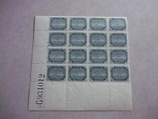 COOK ISLANDS Stamps SG39a PLATE BLOCK WATERMARK INVERTED With VARIETIES - NZ