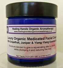 Natural Organic Luxury 'Medicated' Face Cream with SPF15 - 60ml