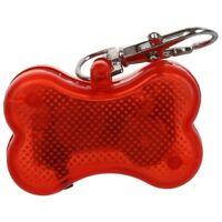 3X(Intermitente Forma Flasher Intermitente Led Cat Bone perro Tag Seguridad H4H6