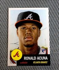TOPPS LIVING SET RONALD ACUNA ROOKIE CARD! QUANTITY! CARD NO LONGER AVAILABLE