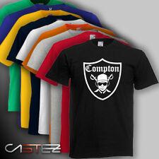 Camiseta compton raiders hip hop rap nwa run dmc ENVIO 24/48h