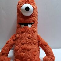 Monster Cyclops Plush Red Yo Gabba Gabba Muno Ty Beanie Babies 2012 Toy