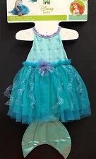 NWT ARIEL MERMAID DISNEY INFANT COSTUME WITH TAIL ATTACHED  SIZE  6-12 Months