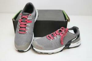 New Inov-8 RocLite 290 Women's Trail Running Shoes Standard Fit 8.5 Grey Pink