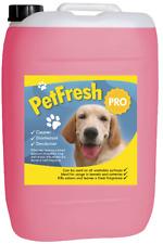 25 L Pink grapfruit Pet canile DISINFETTANTE Deodoriser PULITORE odore fresco cane