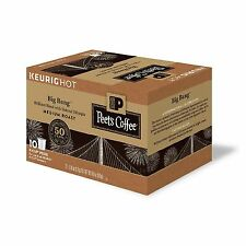 Peet's Coffee Big Bang, Medium Roast 60 K-Cups Keurig Case