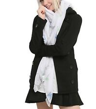 Studio Ghibli Totoro White Tossed All Over Print Sheer Scarf New With Tags!
