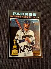 2020 Topps Heritage Chrome THC-437 Fernando Tatis Jr. #/999 Padres SP 🔥 MVP!!