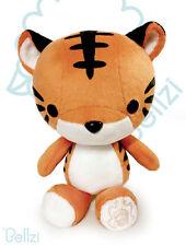 Bellzi 9'' Tiger Kawaii Plush Anime Manga NEW