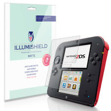 iLLumiShield Matte Screen Protector w Anti-Glare/Print 3x for Nintendo 2DS
