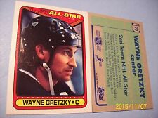 "1990-91 Topps Wayne Gretzky # 199 ""All-Star!"""