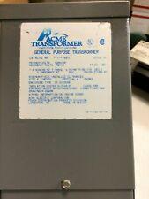 Acme Type SR Transformer T-1-11683 1KVA Pri: 120/240V Sec: 12/24V 1Ph 60Hz