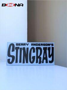 Decorative Gerry Anderson's STINGRAY self standing logo display