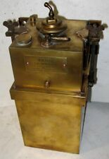 EARLY NEVEROUT BRASS CARBIDE GENERATOR TANK MODEL T FORD REO STANLEY PACKARD