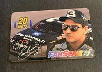 Dale EarnHard FanScan Card Rare