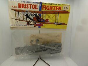 Vintage Airfix-72 Scale F.2.B.Bristol Fighter model aircraft kit