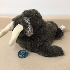 "Vintage Dakin Pillow Pet Stuffed Walrus Plush 1974 tag animal toy gray  12"" AR70"