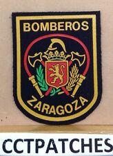 ZARAGOZA, SPAIN BOMBEROS FIRE & RESCUE PATCH