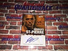 Georges St. Pierre Autographed 2010 Topps Certified Autograph Issue UFC MMA