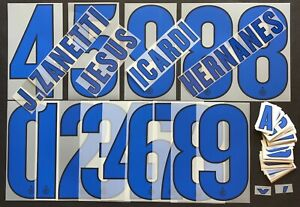 INTER KIT-LETTERE-NUMERI UFFICIALI 2013-2014 AWAY OFFICIAL SETS/NUMBERS/LETTERS