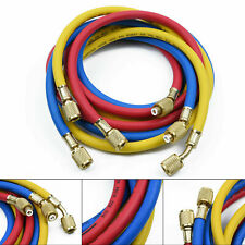 1.5M Manifold Gauge Set HVAC AC Refrigeration Charging Hoses R410a R134a R22 New