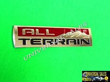 ALL TERRAIN GMC CANYON SIERRA 2014 - 2017 EMBLEM BADGE TAILGATE REAR BRAND NEW