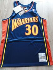 NBA Mitchell & Ness Golden State Warriors Stephen Curry Authentic jersey Size L