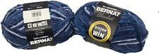 Yarnispirations Bernat Blanket Yarn - Cozy Blue- Super Bulky 6  - 10.5 oz