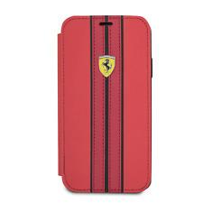 Ferrari Cuero Estilo Libro Funda para IPHONE X y IPHONE XS Gota Protección