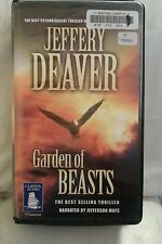 Garden of Beasts by Jeffrey Deaver: Unabridged Cassette Audiobook (GHH2)
